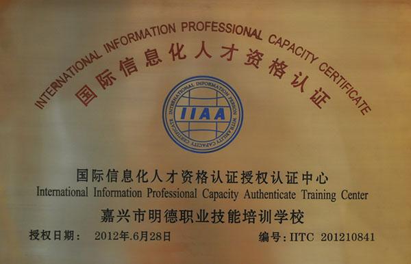 国际信息化人才资格认证